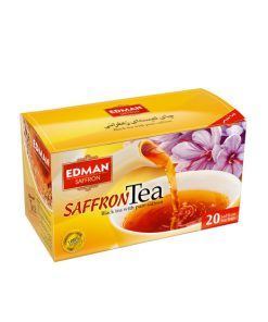 چای سیاه کیسهای زعفرانی ادمان