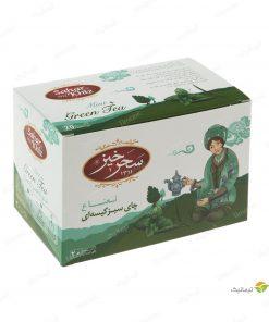 چای سبز کیسهای نعناع سحرخیز