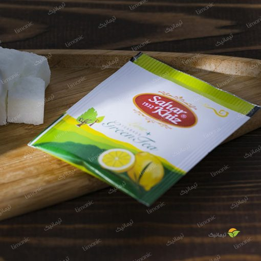 چای سبز کیسهای لیمو سحرخیز