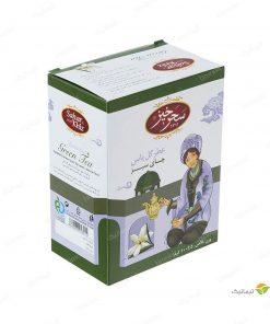 چای سبز عطر گل یاس سحرخیز 100 گرم