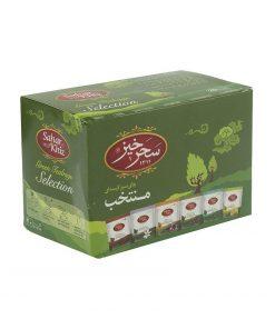 چای سبز کیسهای منتخب سحرخیز