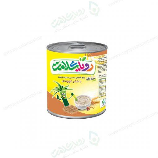 سویق غلات با شکر قهوهای رویای سلامت 400 گرم
