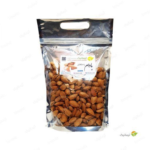 بادام پوست کاغذی (منقا) 500 گرم