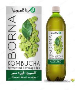 کامبوچا قهوه سبز برنا 1 لیتر