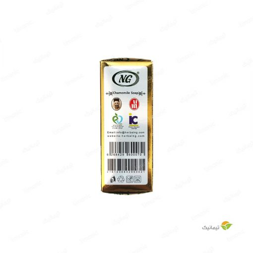 صابون بابونه (پاک کننده آرایش صورت) اِن جی 100 گرم